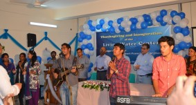 Thanks giving with BSFB worship team